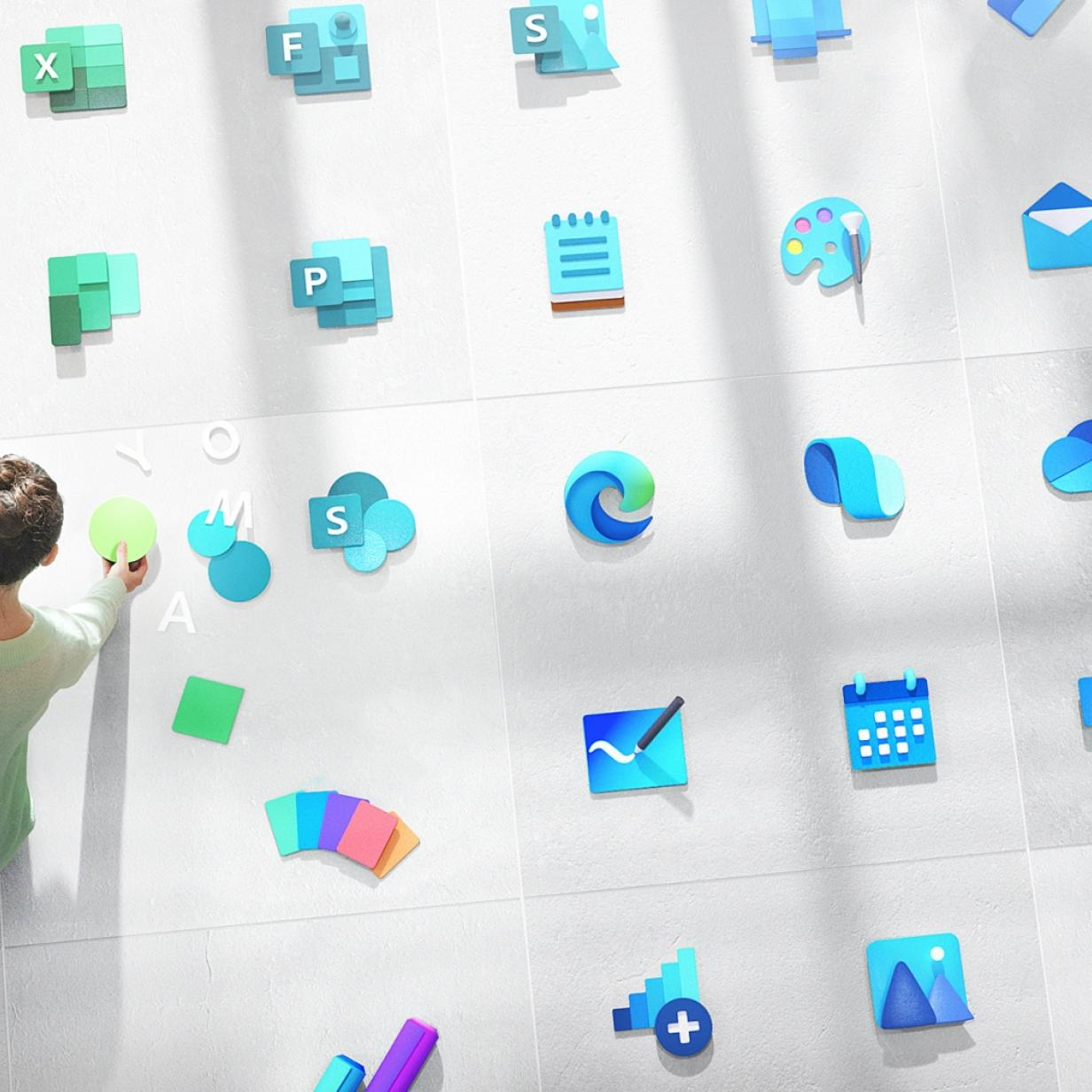Microsoft arbeitet an über 100 neuen Icon-Designs