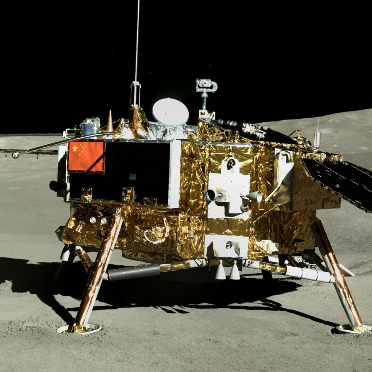China zeigt neue Bilder von der Mondrückseite
