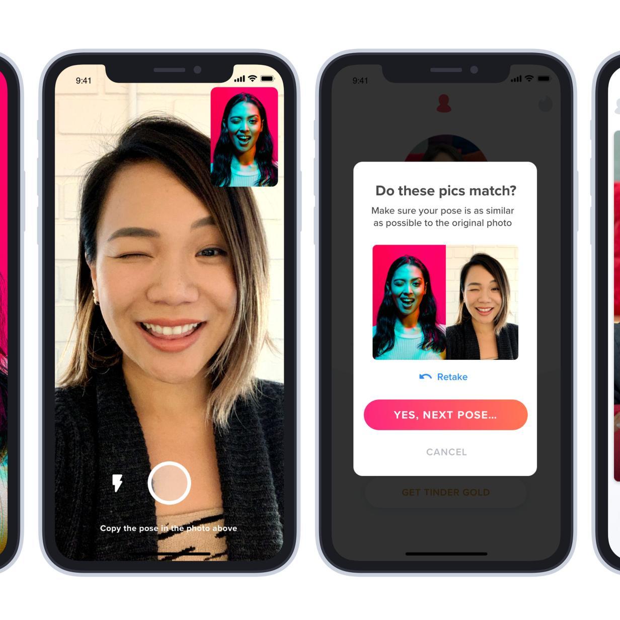 Tinder führt Nutzer-Verifizierung und Notruf-Funktion ein