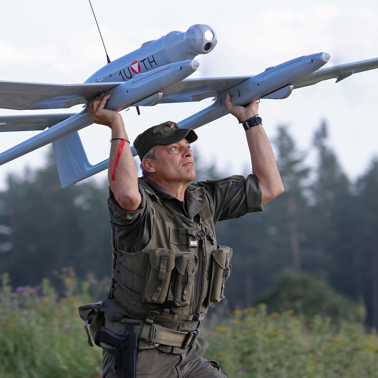 Millionenteure Bundesheer-Drohnen nicht für Regen geeignet