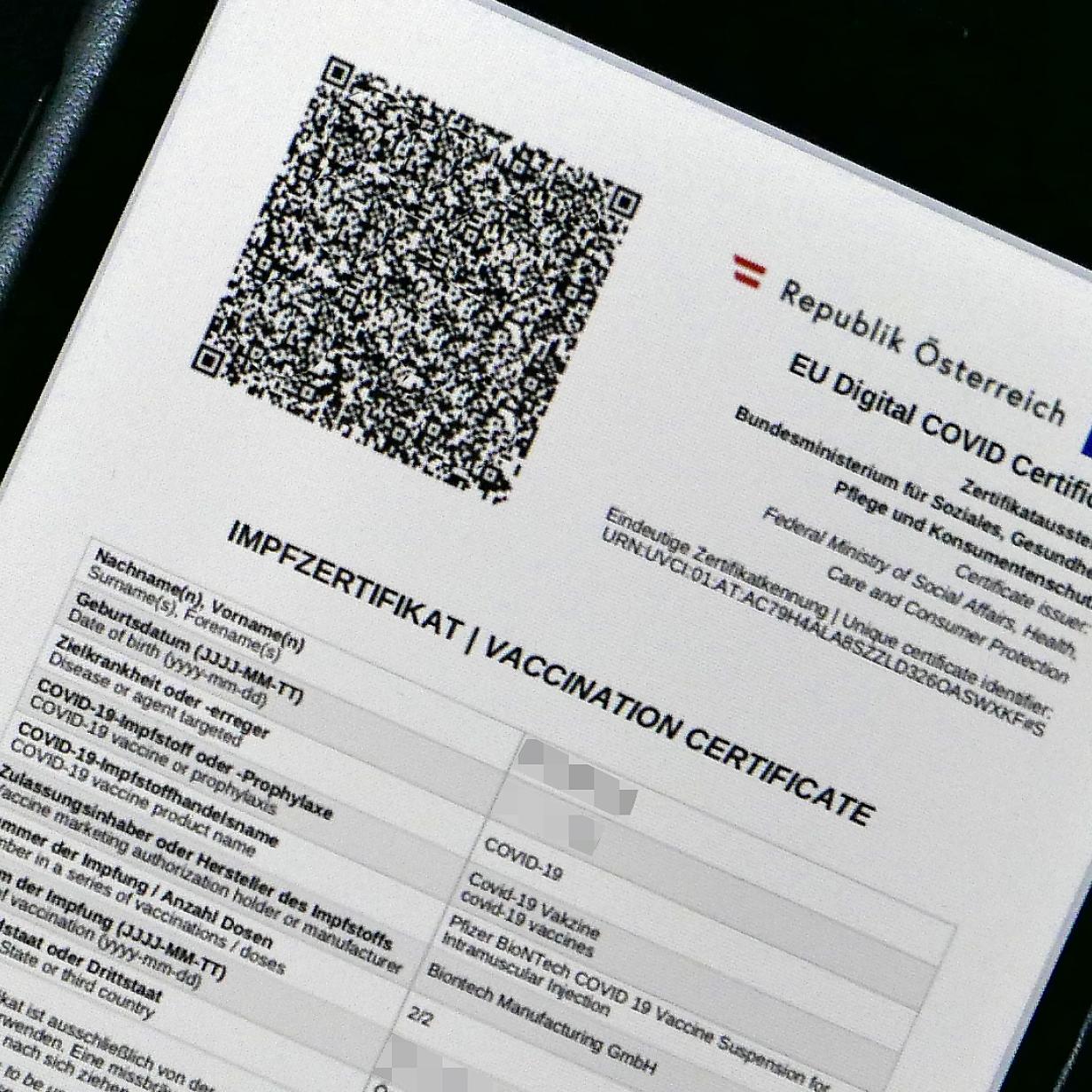 Gruner Pass So Landet Der Impfnachweis In Der Apple Wallet