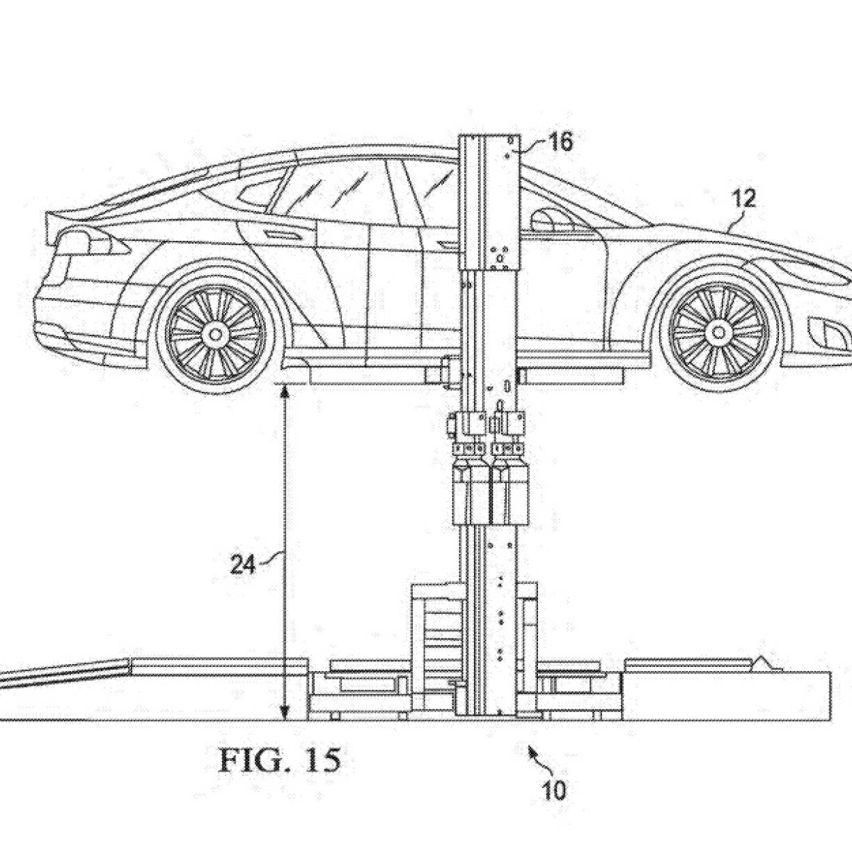 Tesla Patentiert Gert Fr Schnellen Akkutausch Motor Design Diagram Pics