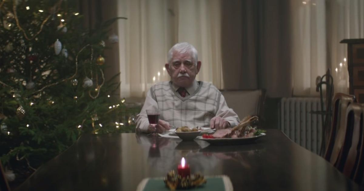 Supermarkt-Werbung mit einsamen Opa wird Internet-Hit