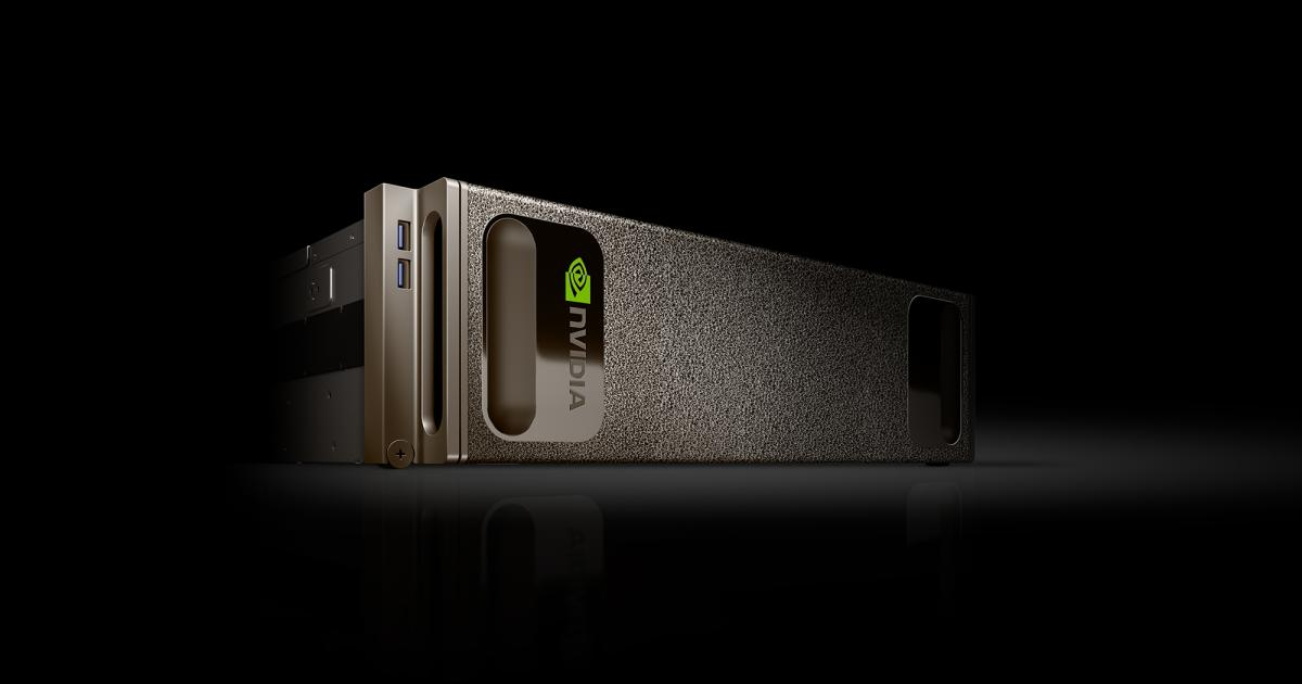 NVIDIA stellt Supercomputer DGX-1 für Forscher vor