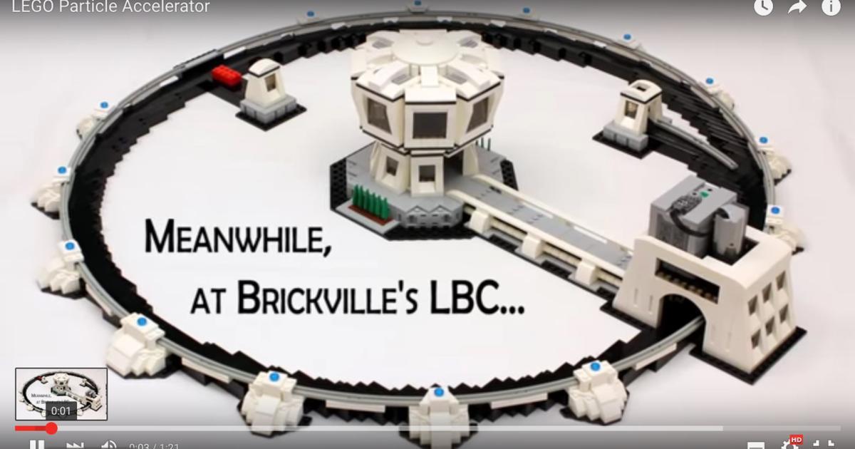 Bastler baut Teilchenbeschleuniger aus Lego