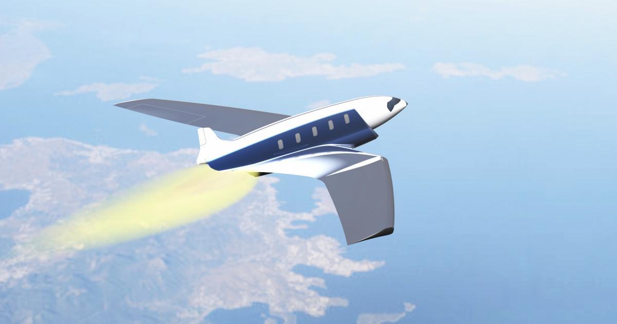 Konzeptflugzeug: Von New York nach London in elf Minuten
