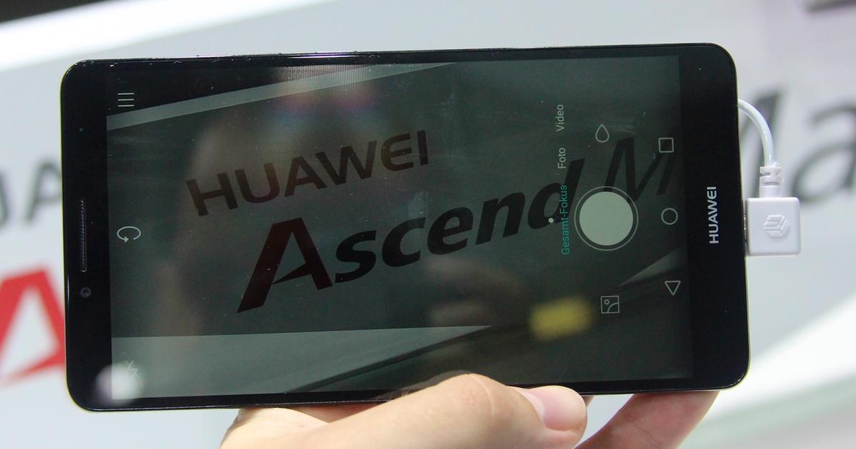 Huawei Ascend Mate 7: Hochwertiger China-Riese angetestet ...
