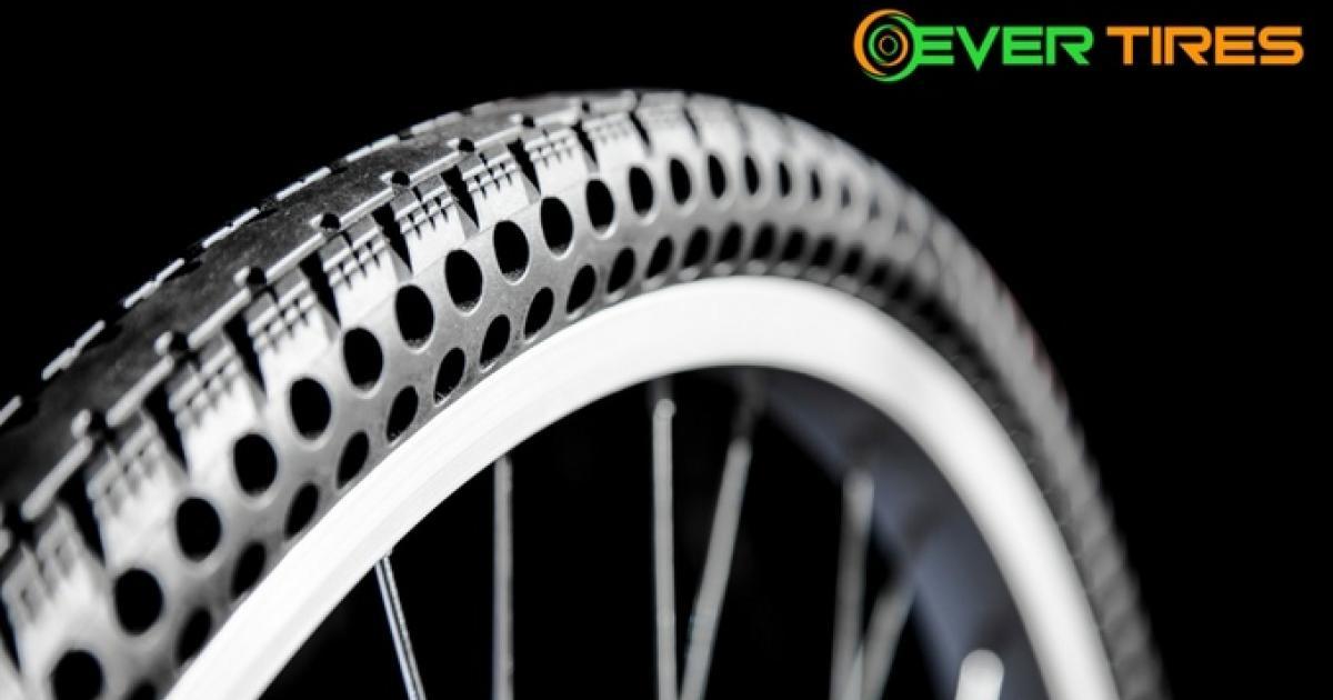 Luftlose Fahrradreifen halten 8000 Kilometer ohne Panne