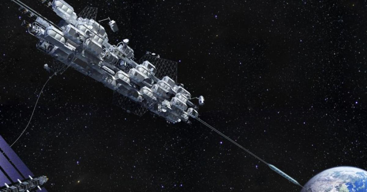Wissenschaftler bauen Aufzug im Weltall