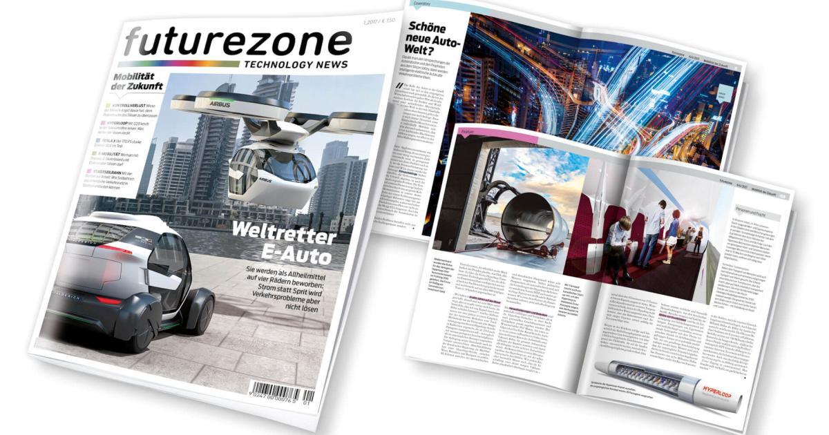 futurezone startet mit neuem Magazin