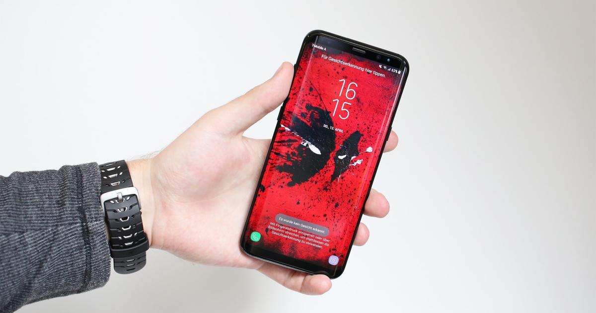 Samsung Galaxy S8+ im Test: Gesund gewachsen