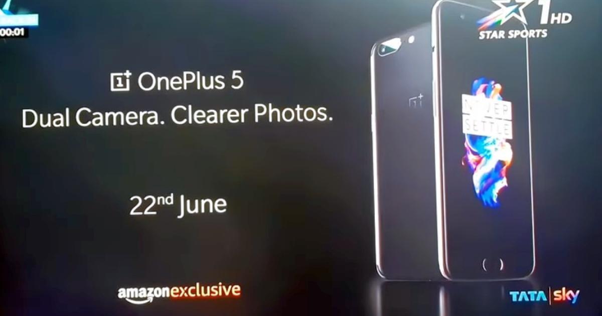 OnePlus 5 taucht in Werbespot auf