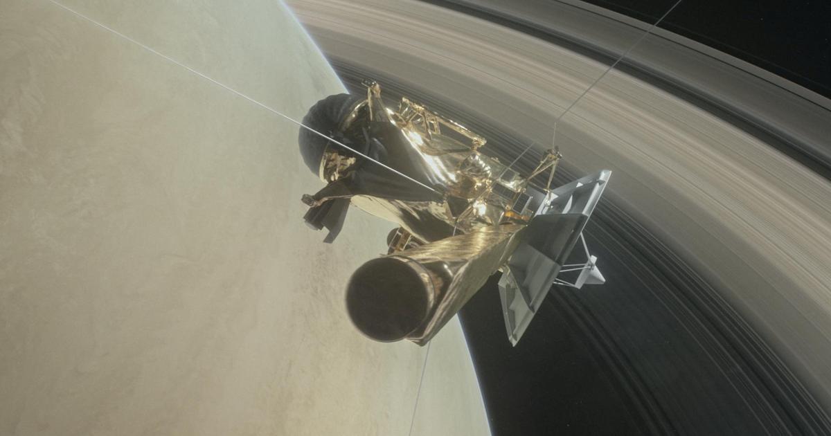 Noch eine Woche bis Absturz der NASA-Sonde Cassini
