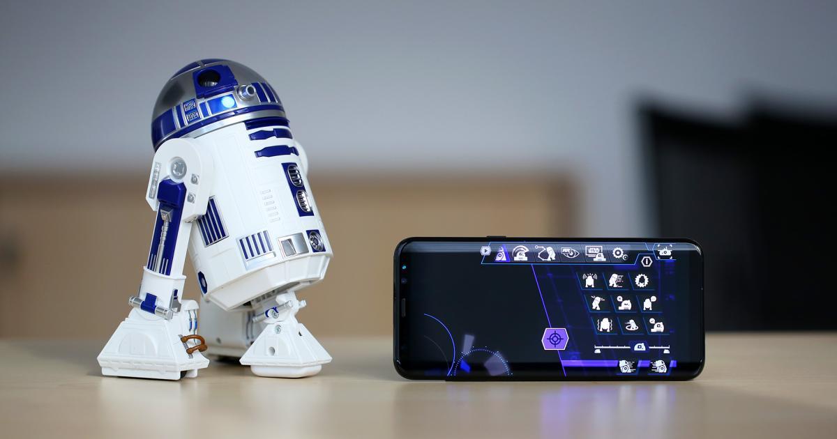 Sphero R2-D2 im Test: Der Roboter, der Herzen stiehlt