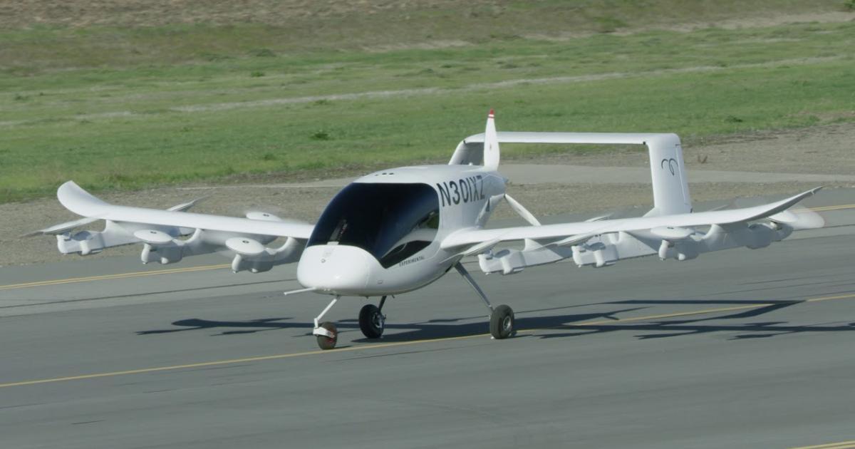 Pentagon finanzierte zwei Flugtaxi-Start-ups