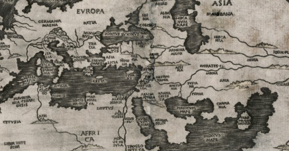 Historische Landkarten sind kostenlos im Netz verfügbar