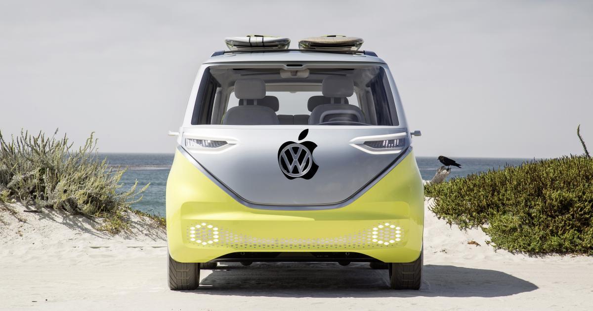 Apple kooperiert mit VW und macht Minivans zu selbstfahrenden Autos