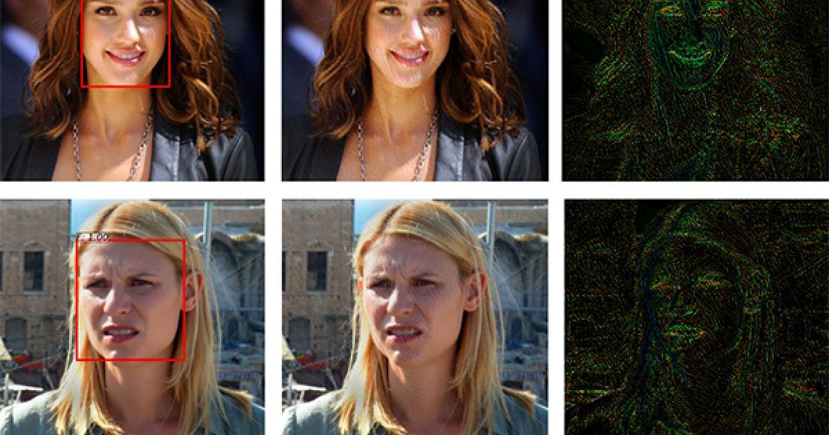 Foto-Filter stört Gesichtserkennungs-Systeme