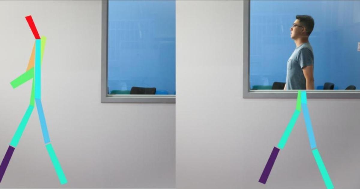 Künstliche Intelligenz erkennt Bewegung von Menschen durch Wände
