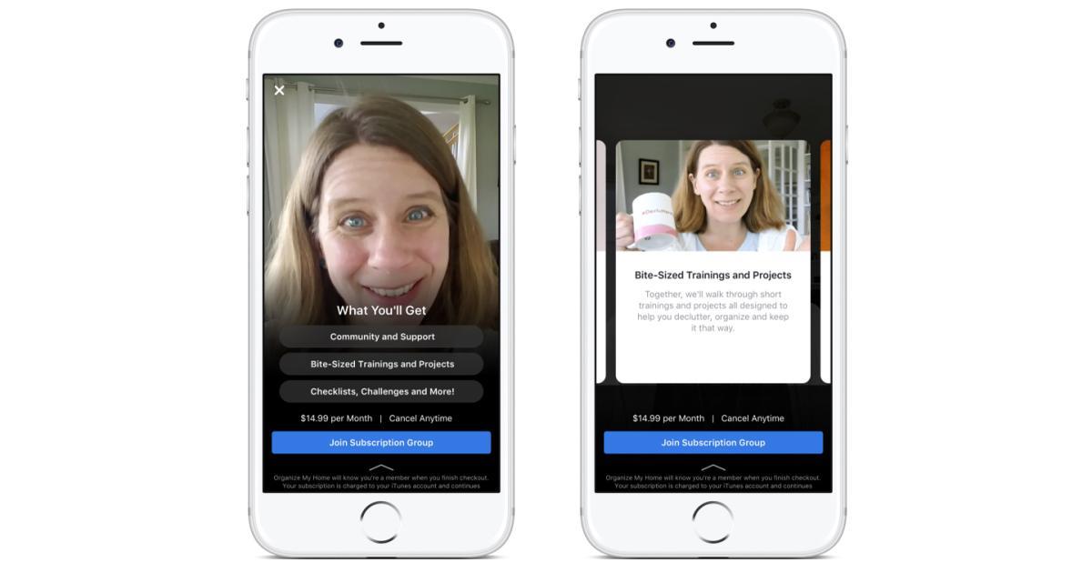 Facebook führt kostenpflichtige Abos für Gruppen ein