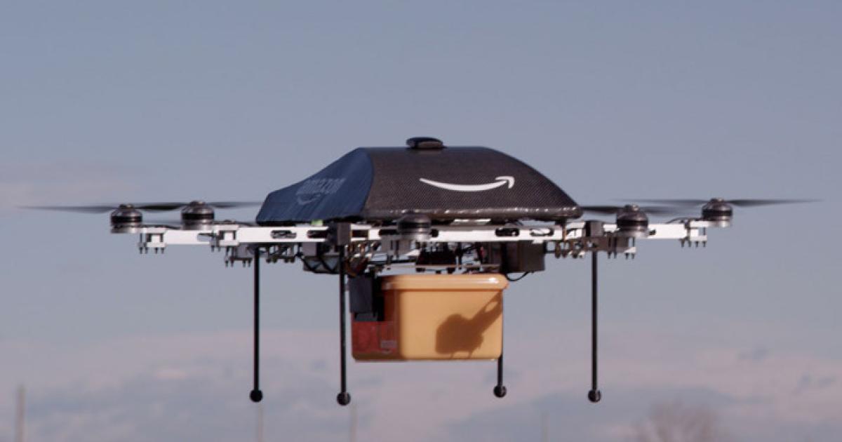 Amazon erhält Patent für diebstahlsichere Drohnen
