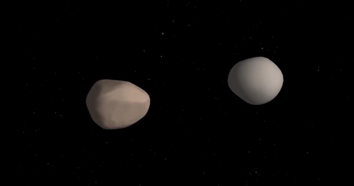 Ungewöhnlicher Doppel-Asteroid stellt Forscher vor ein Rätsel