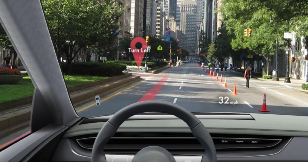 Apple will aus der Windschutzscheibe ein AR-Display machen