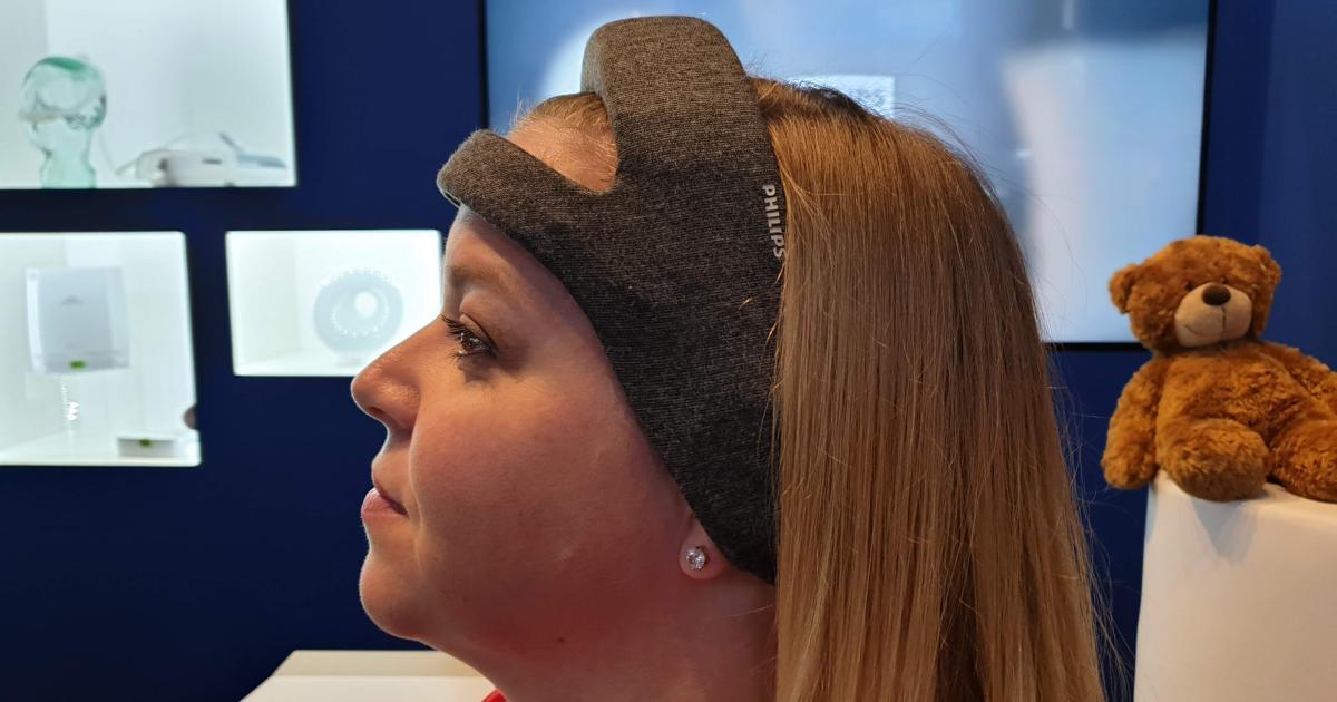 Stirnband von Philips macht Tiefschlaf tiefer