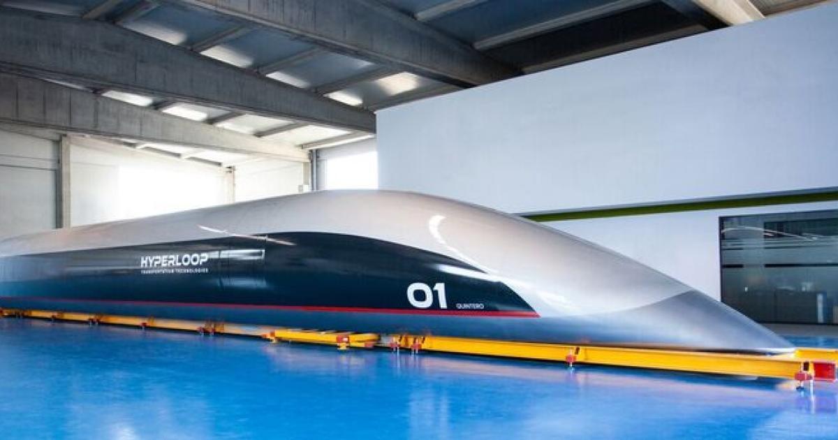 Erste Passagier-Kapsel für Hyperloop präsentiert