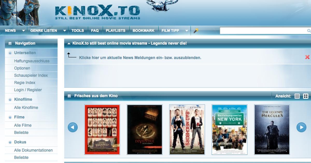Kinox.to-Mitarbeiter bleibt in Haft