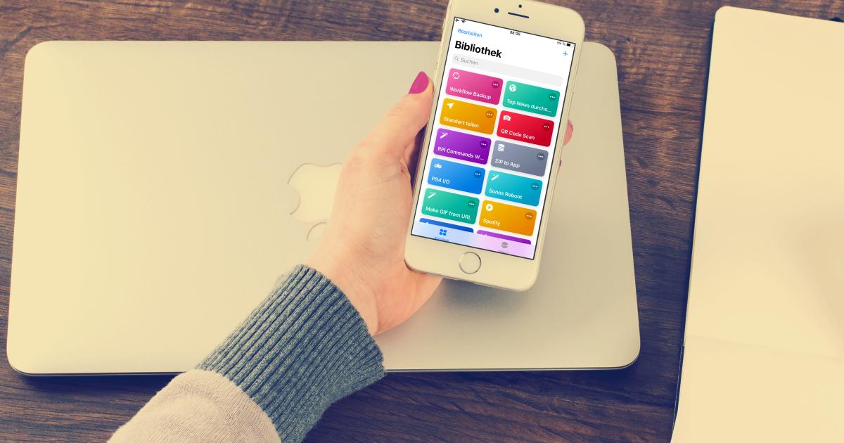 Apples neue Shortcurts-App: So automatisiert ihr euer iPhone