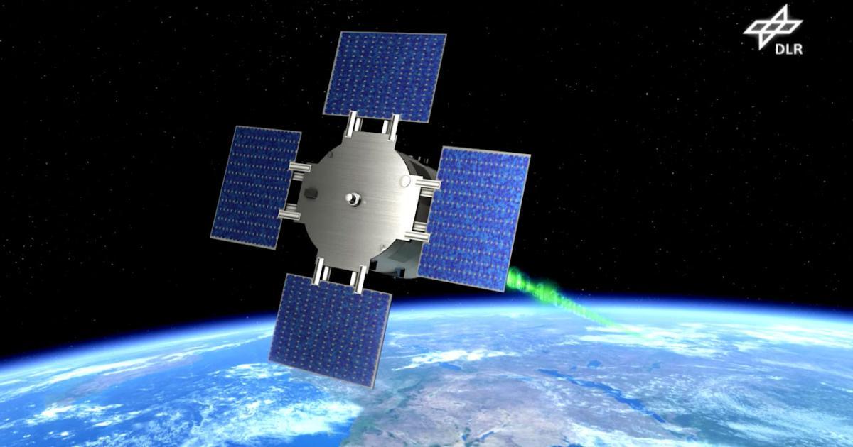 Satellit mit Gewächshaus startet ins All