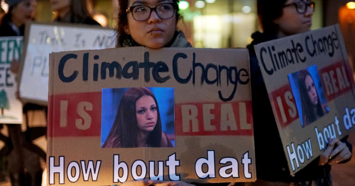 Facebook, Google und Microsoft sponserten Konferenz mit Klimaleugnern