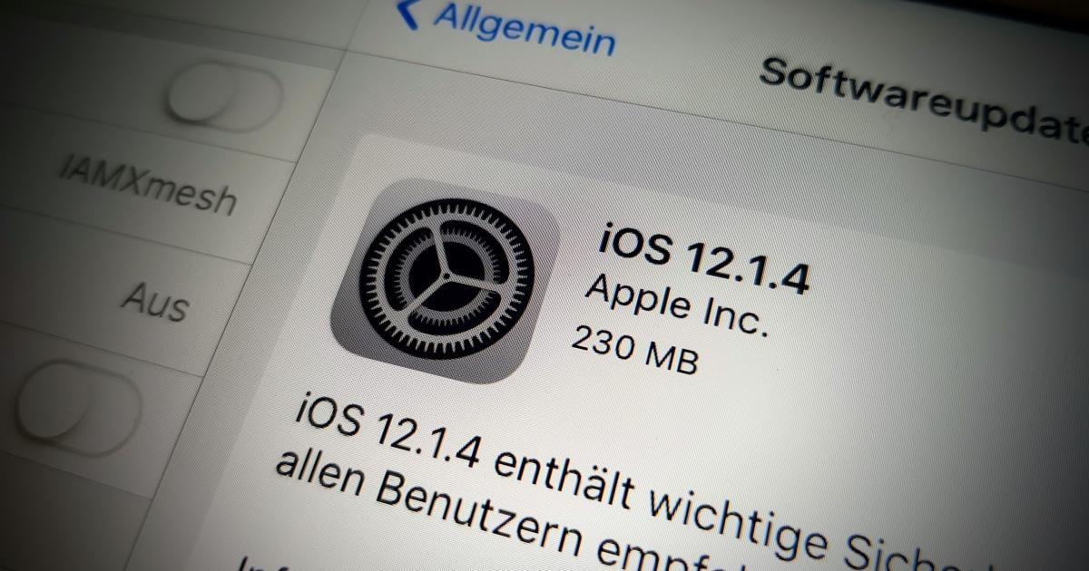 Apple schließt kritische Facetime-Lücke mit neuem iOS-Update