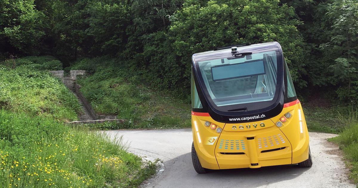 Selbstfahrender Bus in der Schweiz bereits im Einsatz