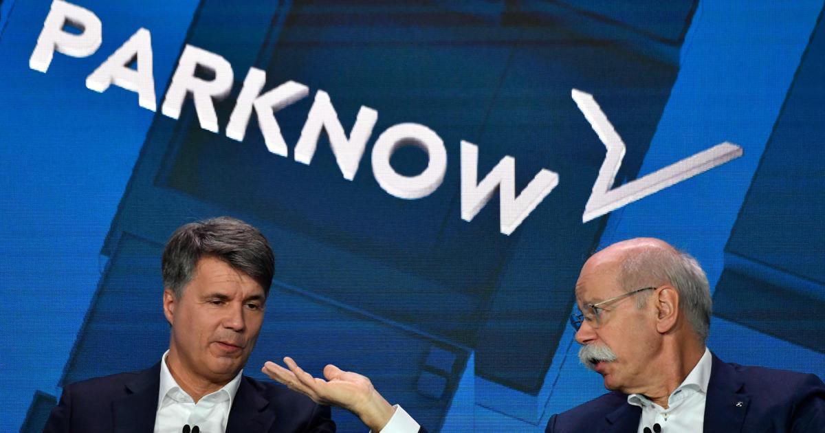 Daimler und BMW stecken über eine Milliarde Euro in Mobildienste