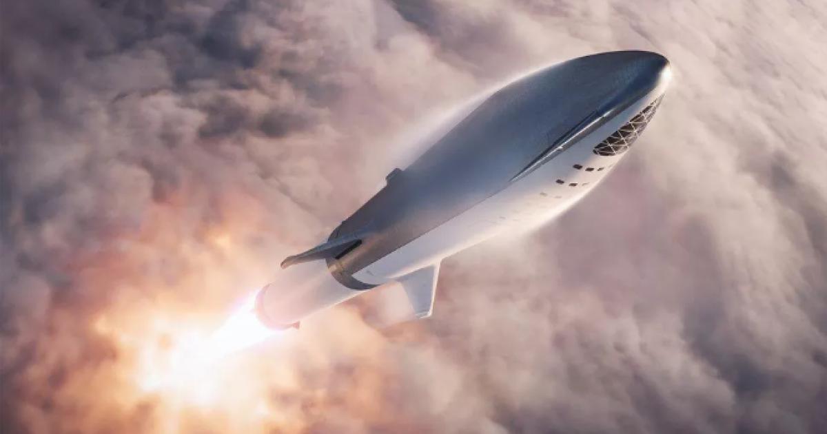 Musk zeigt, wie Hitzeschilde für sein Raumschiff getestet werden