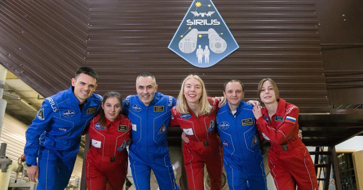 Raumfahrer simulieren viermonatige Reise zum Mond