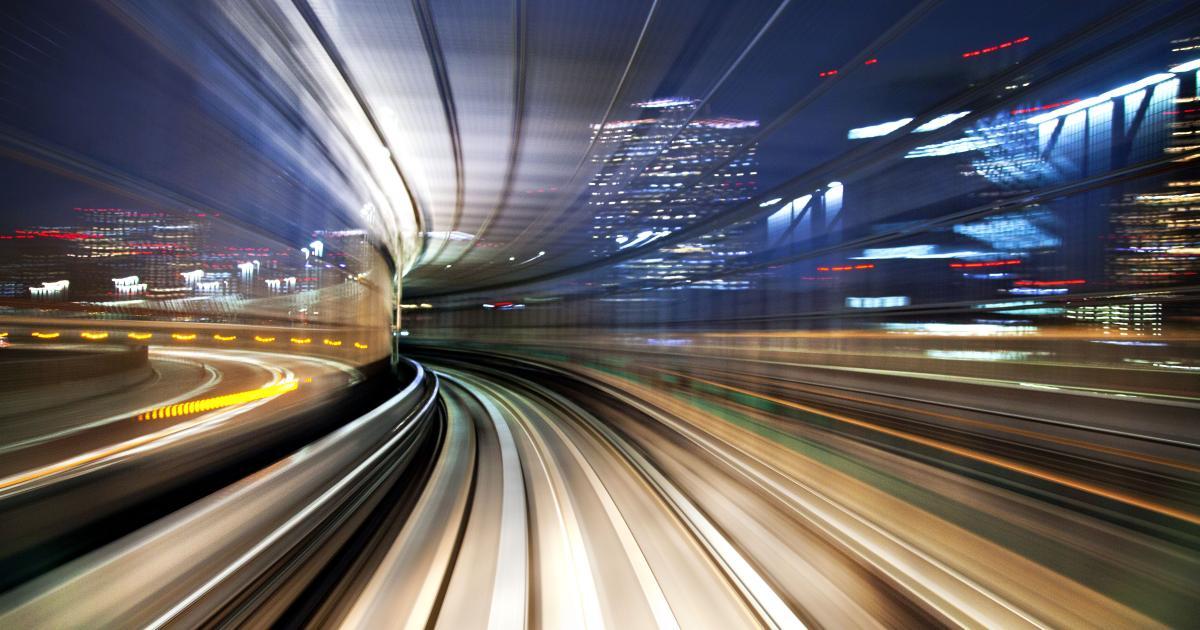So sieht Lichtgeschwindigkeit in Ultrazeitlupe aus
