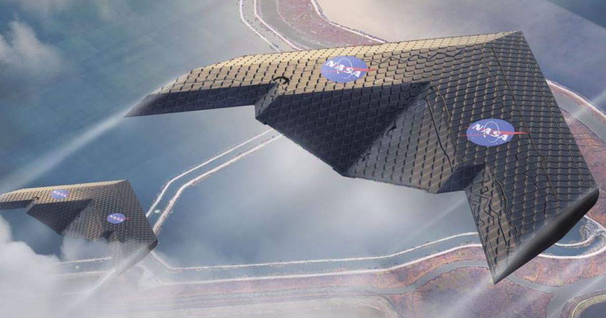 NASA und MIT entwickeln neuartigen Flugzeug-Flügel