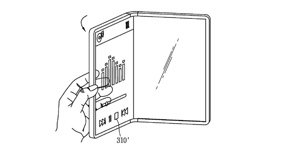 Patent zeigt durchsichtiges, faltbares Smartphone von LG