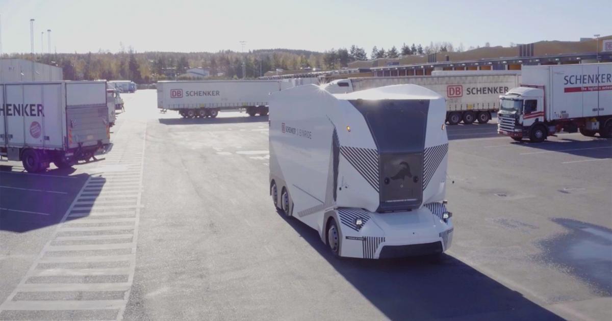 Dieser autonome Elektro-LKW liefert in Schweden jetzt Waren aus