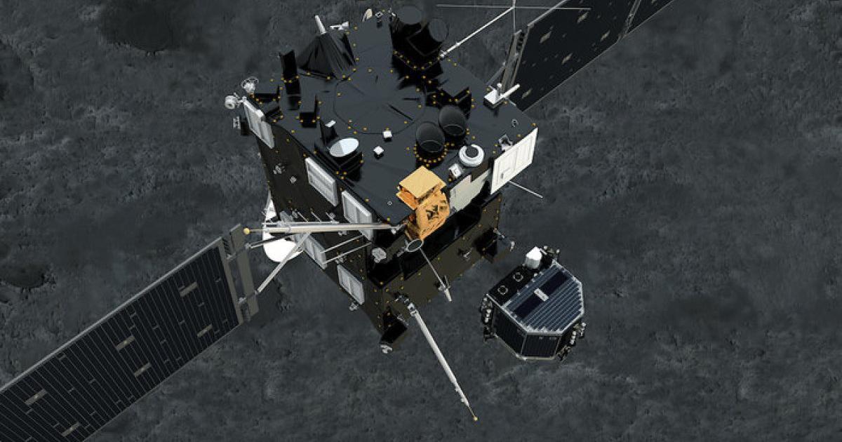Auch Rosetta soll auf dem Kometen Tschuri landen