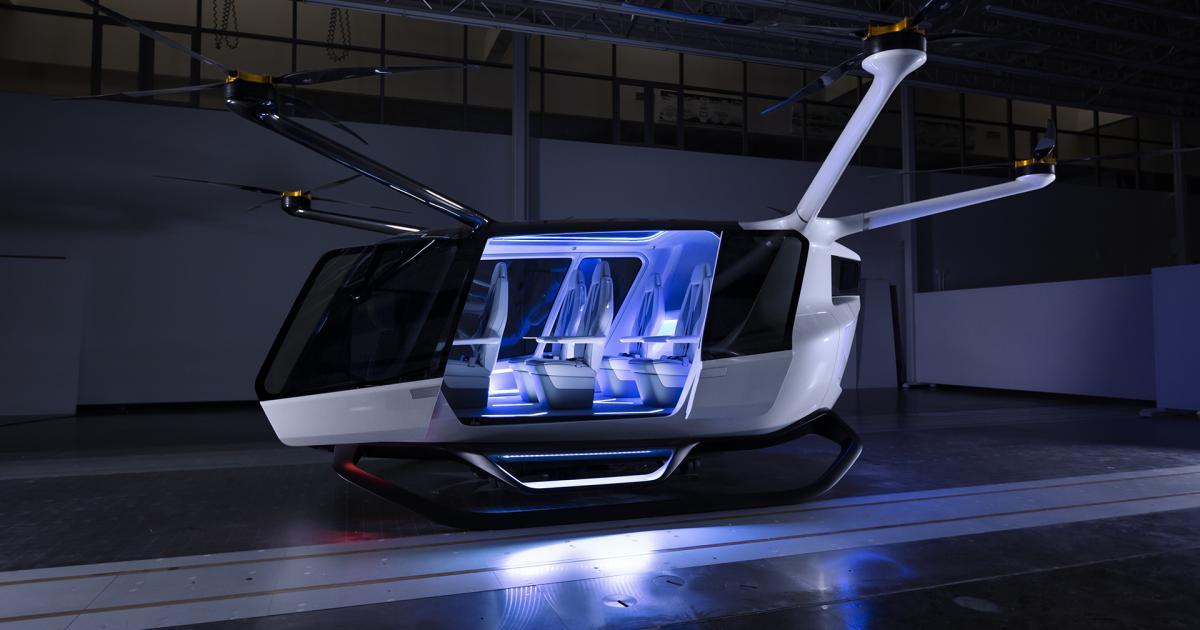 Skai: Erstes Flugtaxi mit Wasserstoffantrieb vorgestellt