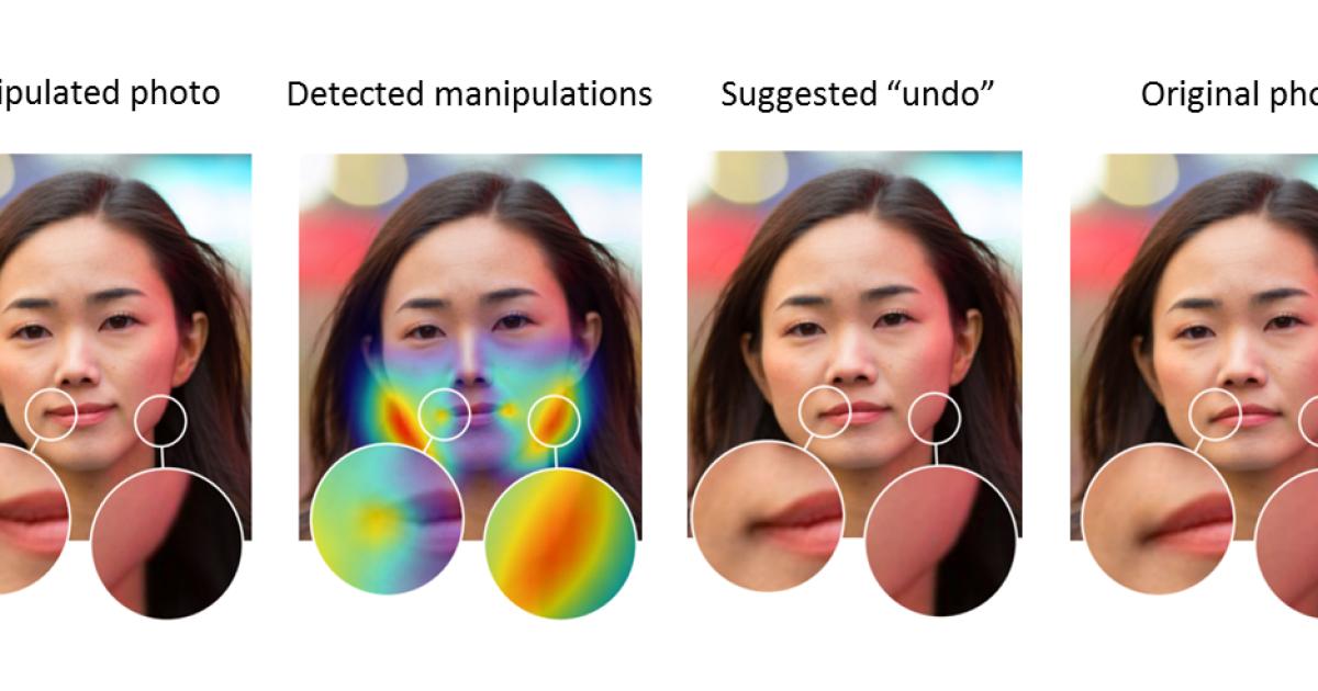 KI erkennt, ob Gesichter gephotoshopt wurden
