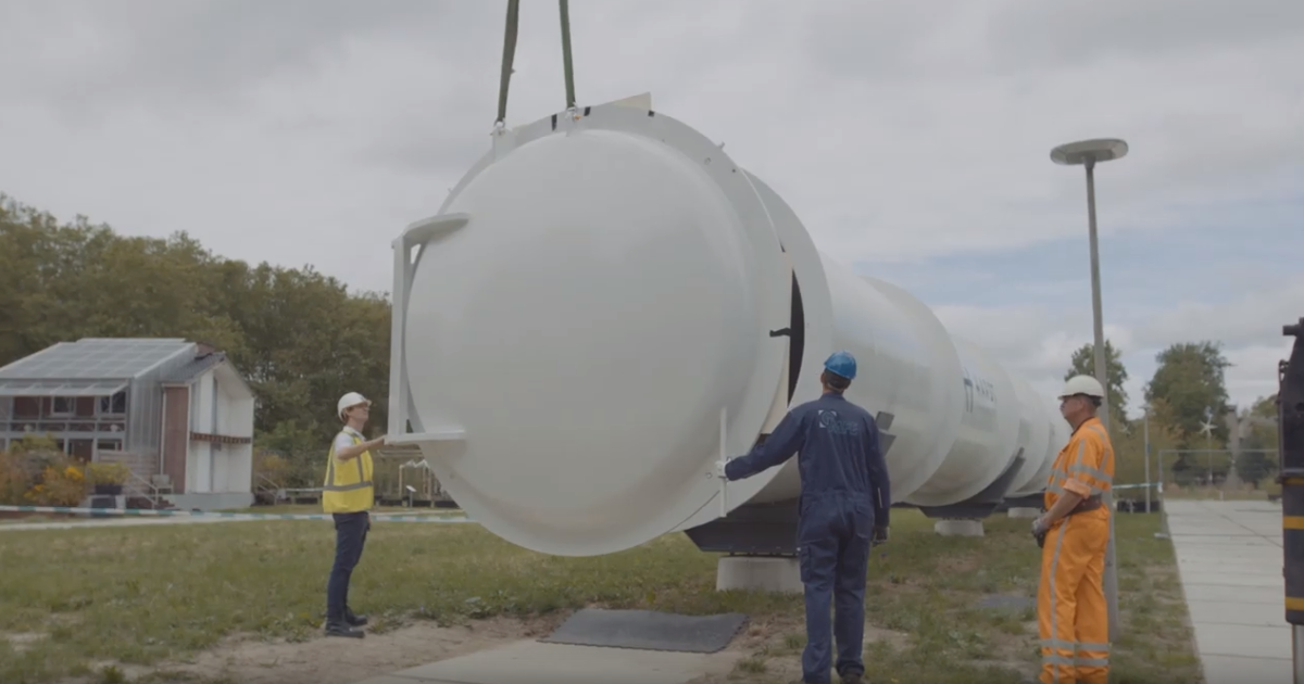 Europa hat ersten funktionsfähigen Hyperloop-Tunnel