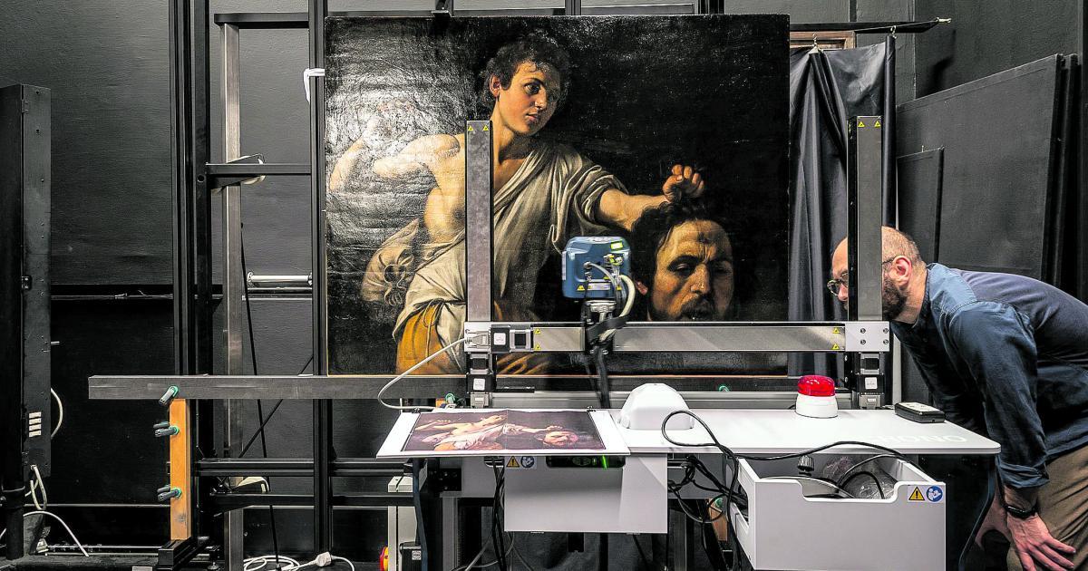 Wie mit Scannern die Geheimnisse von Gemälden gelüftet werden