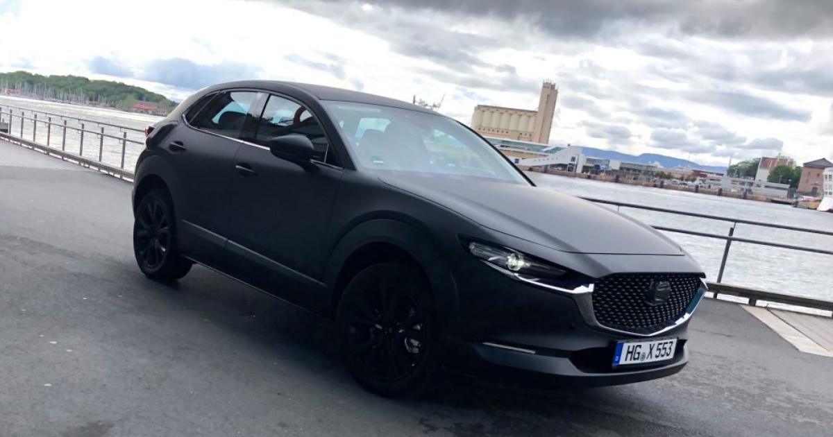 Erwischt: Mazda testet sein erstes Elektroauto auf der Straße