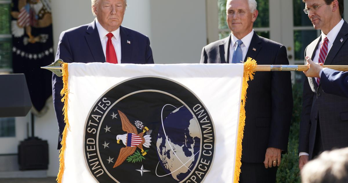 Trumps Weltraumarmee US Space Command nimmt seine Arbeit auf