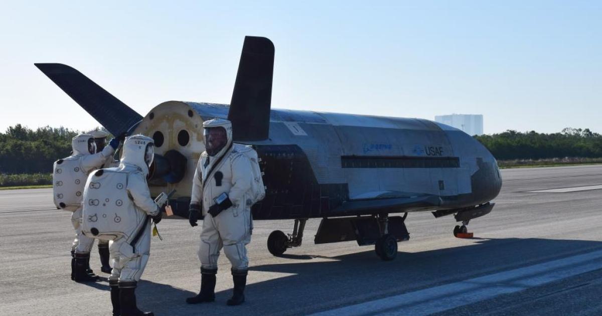 Rätselhaftes Mini-Space-Shuttle seit zwei Jahren auf geheimer Mission